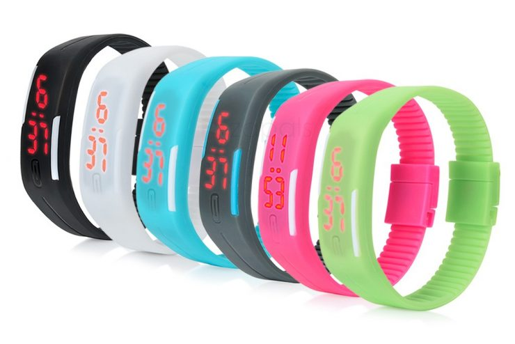 FREE Gift With An LED Digital Bracelet Watch